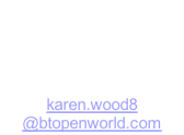 Treasurer Karen Riddle 13 Donaldson Avenue 01536 791120 karen.wood8 @btopenworld.com